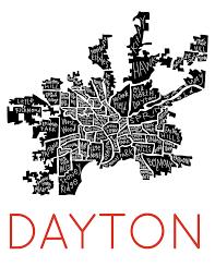 Map Of Dayton Ohio by Dayton Neighborhood Map Razblint