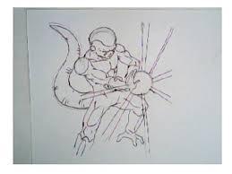 draw frieza dragon ball drawing tutorial step