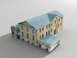 Old Abandoned House 3d Model 3ds Max Files Free Download 3d House Building Free