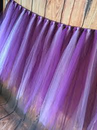 purple tulle tulle tutu table skirt purple tulle table skirt tutu table