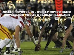 Notre Dame Football Memes - ncaa 14 usc at notre dame jeweled shillelagh usc away nd adidas
