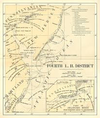 Michigan Lighthouse Map by Charts U0026 Documents