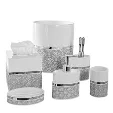 shop amazon com bathroom accessory sets