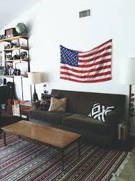 flag decorations for home flag decorations for home flg wll mericn imges rustic american
