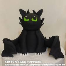 toothless cake topper toothless cake topper custom cake toppers and supplies