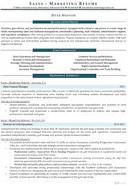 results driven resume example resume samples for sales and marketing jobs resume samples