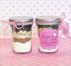 Easy Favors by Cookie Mix Mini Jar Favors Easy Recipe Tutorial