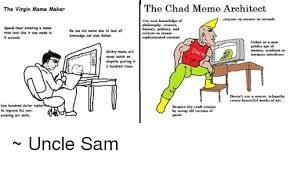 Clean All The Things Meme Generator - the virgin meme maker the chad meme architect use vast knowledge