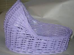 lavender baby shower decorations wicker baby bassinet table center baby shower decoration