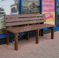wait bench outdoor pvc recycled plastic seating bench fitness sports equipment