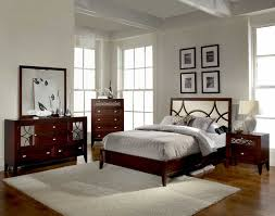 Mirrored Furniture For Bedroom by Furniture Nice Bedroom Decoration With Brown Wood Bed Frame