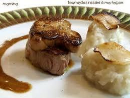 topinambour recette cuisine tournedos rossini foie gras truffe et topinambour recette