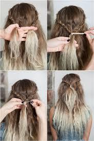 Frisuren Lange Haare Wasserfall by 54 Besten Hair Tutorial Bilder Auf Frisuren Anleitung