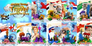 travel around the world airplane version by xenonxenon videohive