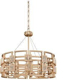 gold ceiling light fixtures kalco 500651mg metropolis modern modern gold drop ceiling light