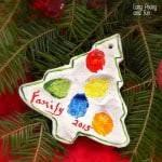 fingerprint snowmen ornaments ornaments for