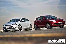 renault dubai twin test opel astra vs renault megane motoring middle east