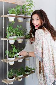 Diy Vertical Herb Garden Custom Potted Hanging Herb Garden An Easy Diy For Your Home From