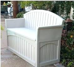 small garden storage bench outdoor wood storage bench affordable