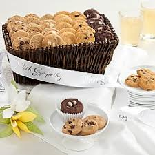 sympathy gifts sympathy gifts cookie gift baskets delivered mrs fieldsâ