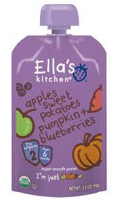 Kitchen 428 by Ella U0027s Kitchen Organic Apples Sweet Potatoes Pumpkin U0026 Blueberries
