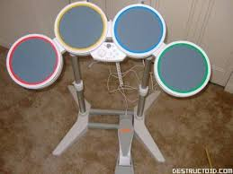 B And M Table And Chairs Hands On With Rock Band Drums For The Wii