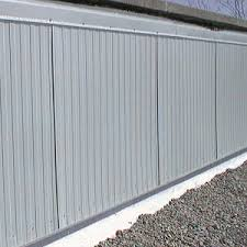 wall systems available in aluminum or galvanized steel