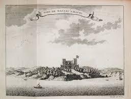 Nassau Map Antiquemaps Fair Map View Rare Old Antique View Of Fort
