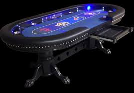 10 player round poker table custom poker tables with a sports theme 2 sports themed poker
