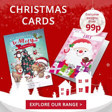 personalised cards from 99p card factory