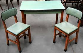 kitchen fascianting retro table and chairs shinyooved home design