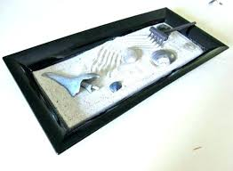 Tabletop Rock Garden Tabletop Zen Garden Tabletop Zen Design White Sand Rocks Rake Diy