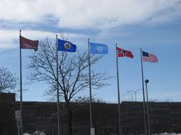 United Nation Flag Tearing Down A Flag With Scarcely A Notice Minnpost