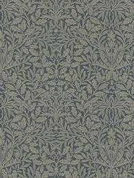 william morris wallpaper acorn charcoal wallpaper zoom william