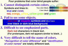 color universal design cud colorblind barrier free