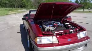 1992 mustang supercharger 1992 ford mustang supercharger flowmaster 40s