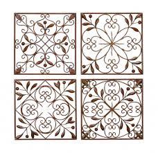 uncategorized elegant wrought iron wall art home wall ideas