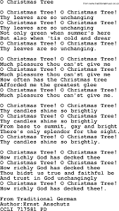 christmas powerpoints song o christmas tree lyrics ppt for