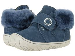Light Blue Uggs Ugg Kids Shearling Boots And Slippers Sheepskin