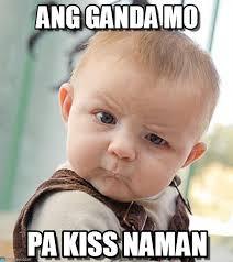 Meme Mo - ang ganda mo sceptical baby meme on memegen