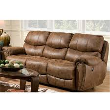 pier 1 sofa or black velvet and george smith plus double recliner