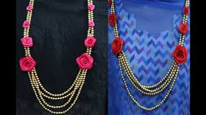 flower necklace wedding images Easy diy flower jewelry for brides floral jewellery jewellery jpg