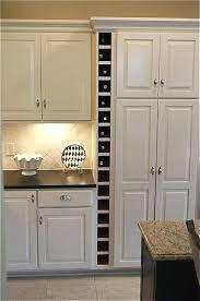 kitchen cabinet wine rack ideas built in wine rack kronista co
