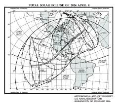 Indiana Time Zone Map 2024 April 8 Total Solar Eclipse