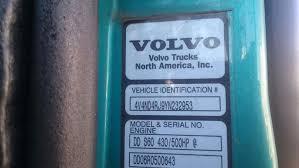 volvo truck model numbers 2000 volvo vnl670 tpi