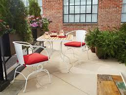 Garden Oasis Patio Chairs by Garden Oasis Felix Retro Faux Wood 3pc Bistro