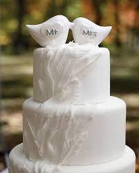 birds wedding cake toppers mr and mrs porcelain birds cake topper