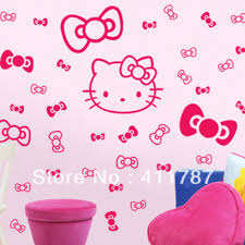 hello kitty wall decals that are cute and funny u2014 home decor blog