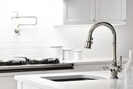 Designer Kitchen Faucet Kitchen Awesome Kitchen Sink Faucet Design With Stainless Steel