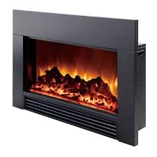 Fireplace Electric Insert Dynasty Built In Electric Led Fireplace Hayneedle